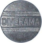 Diverama - token for arcade – avers