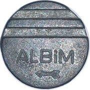 Albim - Token for arcade – avers