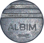 Albim - Token for arcade – revers