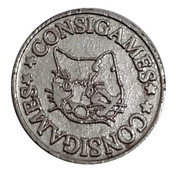 Game Token - Consigames - JBC – avers