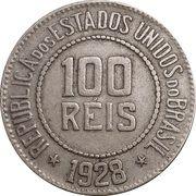 100 réis - Liberté -  avers