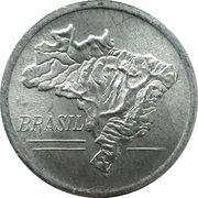 20 cruzeiros - Carte du Brésil -  avers
