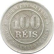 100 réis - Croix du Sud -  revers