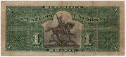 1 Mil Réis (7th Print; Tesouro Nacional; Republic) – revers