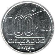 100 cruzados (centenaire de l'abolition de l'esclavage) – revers