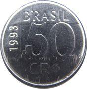 50 cruzeiros reais - Jaguar – revers