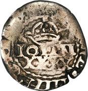 50 réis João IV (contremarquée sur ½  tostão) – avers