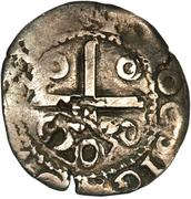 50 réis João IV (contremarquée sur ½  tostão) – revers