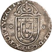 125 réis - João IV (contremarquée sur 1 tostão) – avers