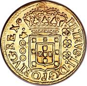 4000 réis - Pedro II – avers