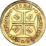 2000 réis - Pedro II – revers