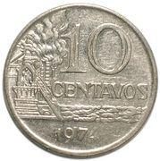 10 centavos (magnétique) – revers