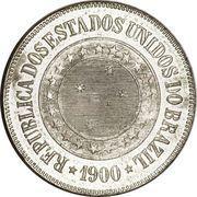 200 réis - Croix du Sud -  avers