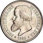 2000 réis - Pedro II -  avers