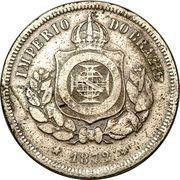 100 réis - Pedro II -  avers