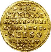 2 ducat Karl (festival de tir à Neisse) – revers