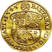1 ducat Balthasar von Promnitz – avers