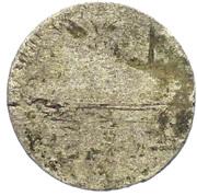 ½ Kreuzer - Friedrich von Hessen-Darmstadt – revers