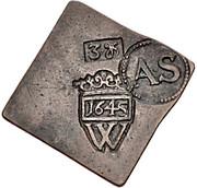 3 Groschen (Monnaie de siège) – avers
