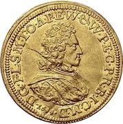 1 Ducat - Franz Ludwig von der Pfalz und zu Neuburg – avers