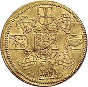 1 Ducat - Franz Ludwig von der Pfalz und zu Neuburg – revers