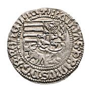 1 garas Matthias Corvinus (1458-1490) – avers