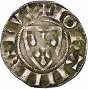 Denier de St Brieuc - Jean III le Bon – avers