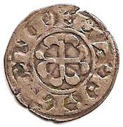 Denier anonyme - Constance, Arthur 1er ou Guy de Thouars – avers
