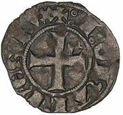 Denier d'Evran - Jean III le Bon – revers