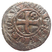 Denier d'Evran - Jean II – revers