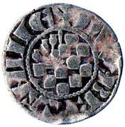 Denier au Lambel - Jean II ou Arthur II – avers