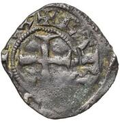 Denier Rennes - Charles de Blois (imitation du denier tournois de Jean II) -  avers