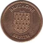 1 Cent (Brittany Euro Fantasy Token) – avers