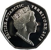 50 Pence - Elizabeth II  (Macaroni Penguin) – avers