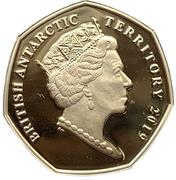 50 Pence - Elizabeth II (Boaty McBoatface) – avers