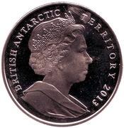 2 livres - Elizabeth II  (Manchots empereur) – avers