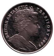 2 livres - Elizabeth II  (Traité sur l'Antarctique) – avers