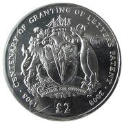 2 livres - Elizabeth II (Letters Patent of British Antarctica) – revers