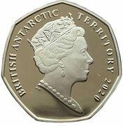 50 Pence (HMS Erebus) – avers