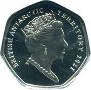 50 Pence - Elizabeth II (Scotia) – avers