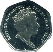 50 Pence (HMS Terror) – avers