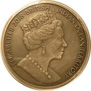4 Pounds - Elizabeth II (Centaur) – avers