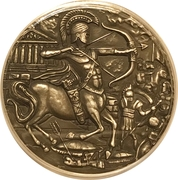 4 Pounds - Elizabeth II (Centaur) – revers