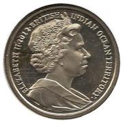 2 Pounds - Elizabeth II (Jubilé de diamant) – avers