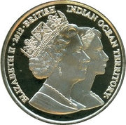 2 Pounds - Elizabeth II / Princess Margaret – avers