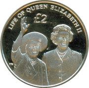 2 Pounds / Diamond Jubilee of Queen Elizabeth II – revers