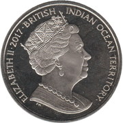 2 Pounds - Elizabeth II (Tortue verte) – avers