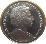 2 Pounds - Elizabeth II (A lifetime of service) – avers