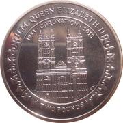 2 Pounds - Elizabeth II (A lifetime of service) – revers