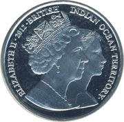 2 Pounds - Elizabeth II (Princess Margaret) – avers